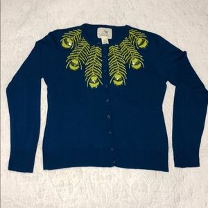 Anthropologie Tabitha Peacock Sweater sz L NWT